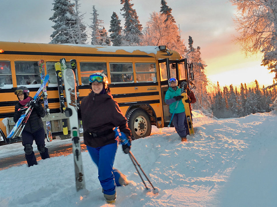 Moose Mountain Ski Resort - Fairbanks, Alaska